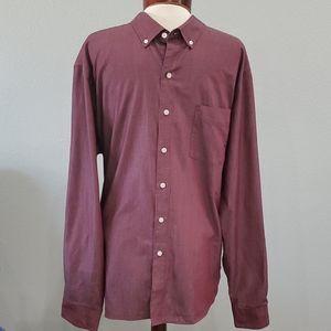 Men's Van Heusen Dress Shirt  Size 18- 18 1/2